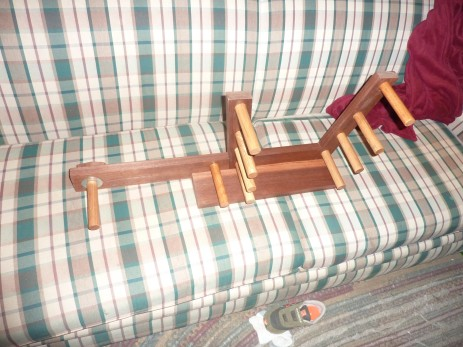 Inkle loom walnut and oak